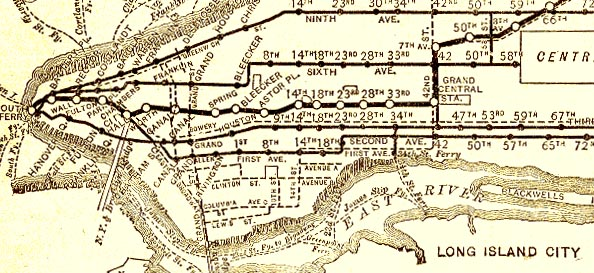 Original Nyc Subway Map.On This Day 1878 The First Elevated Trains Run In Nyc Tenement