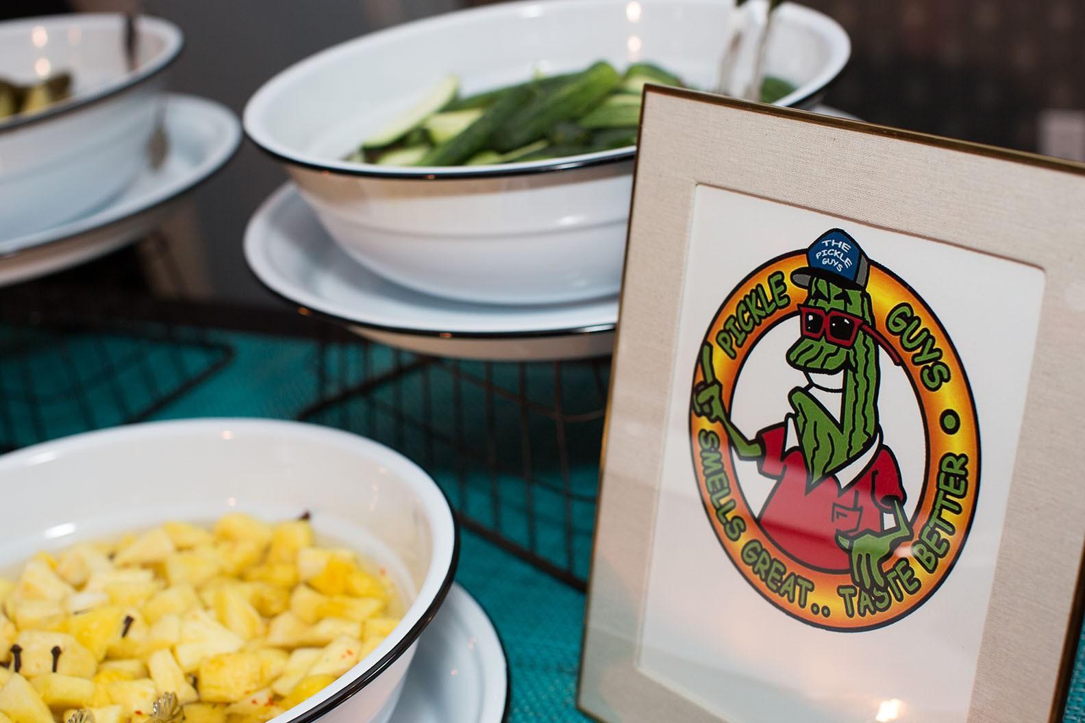 Pickle Guys table display