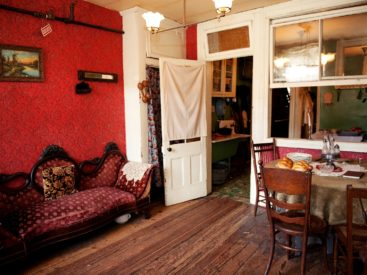 Recreated Rogarshevsky Parlor inside 97 Orchard Street
