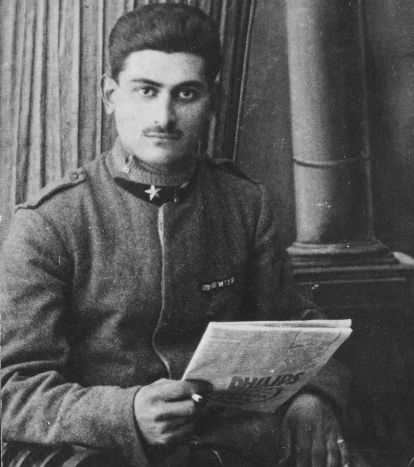portrait of Adolpho Baldizzi in a uniform