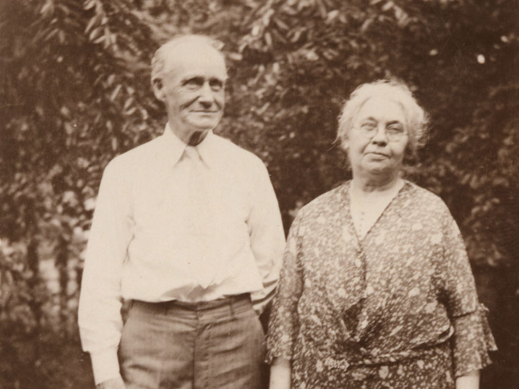 Photo portrait of Roger and Jane Hanrahan in 1935