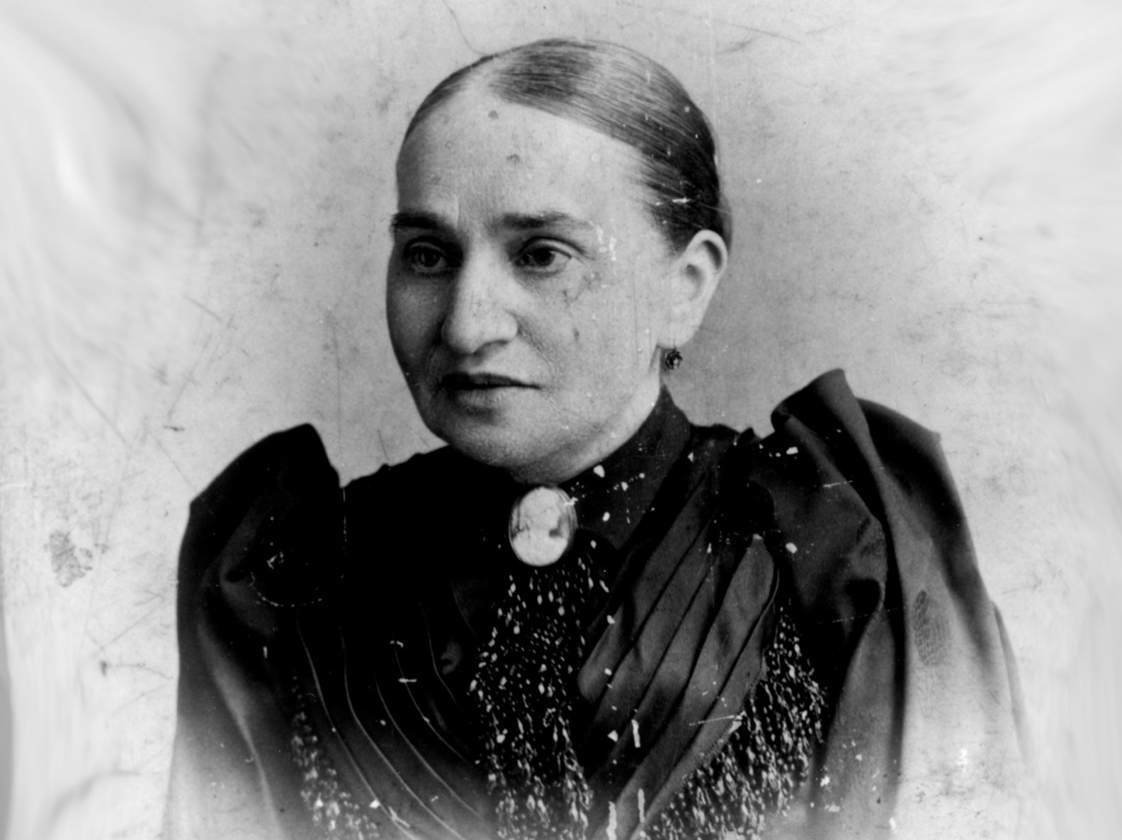 Photo portrail of Natalie Gumpertz circa 1895
