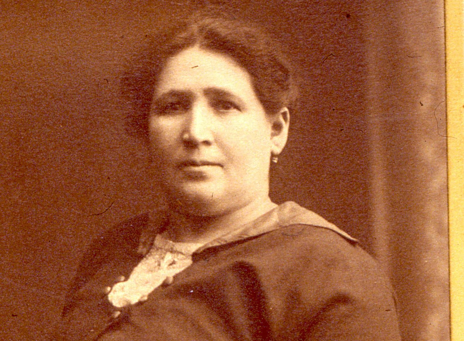 Portrait of Fanny Rogarshevsky.