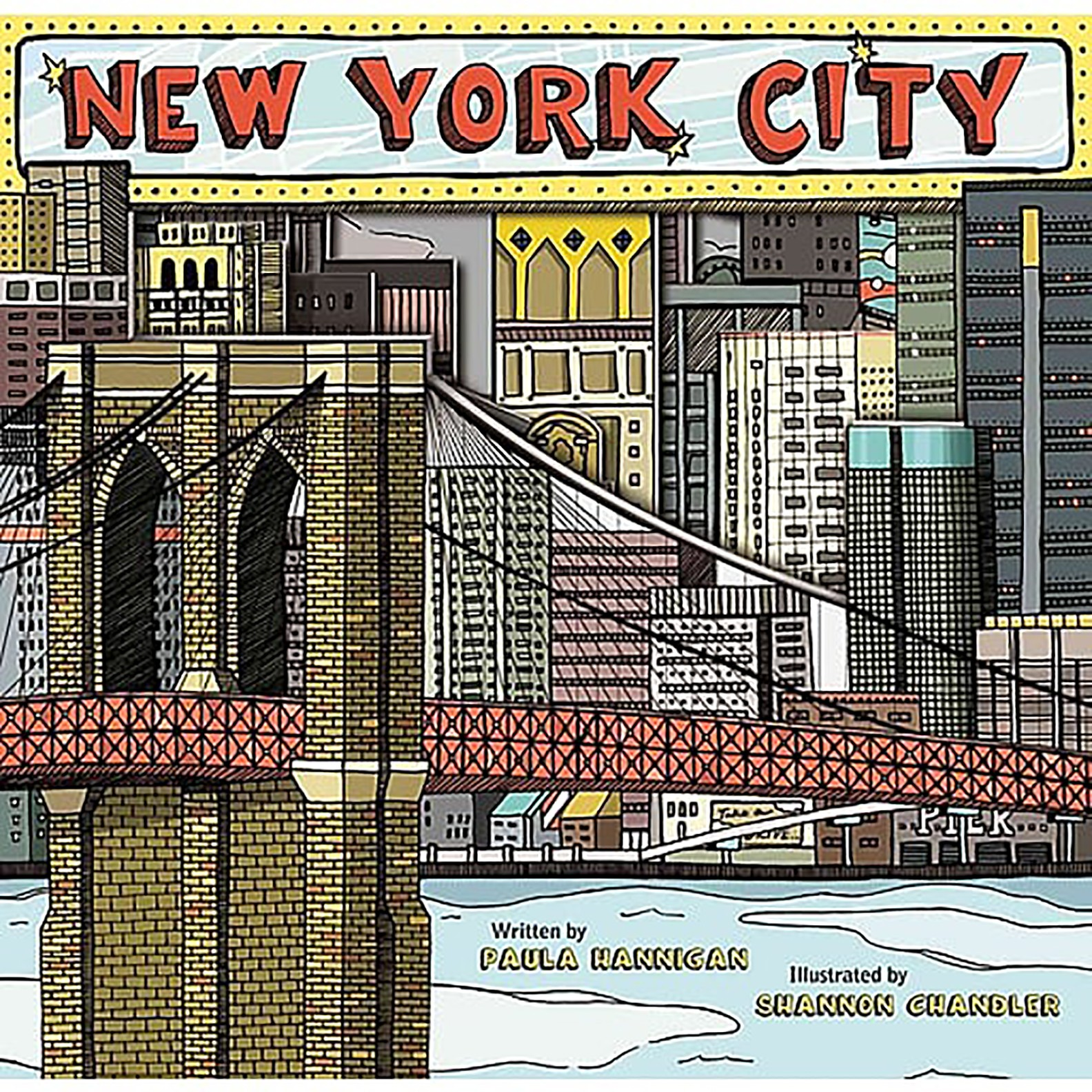Cover of the children's book New York City