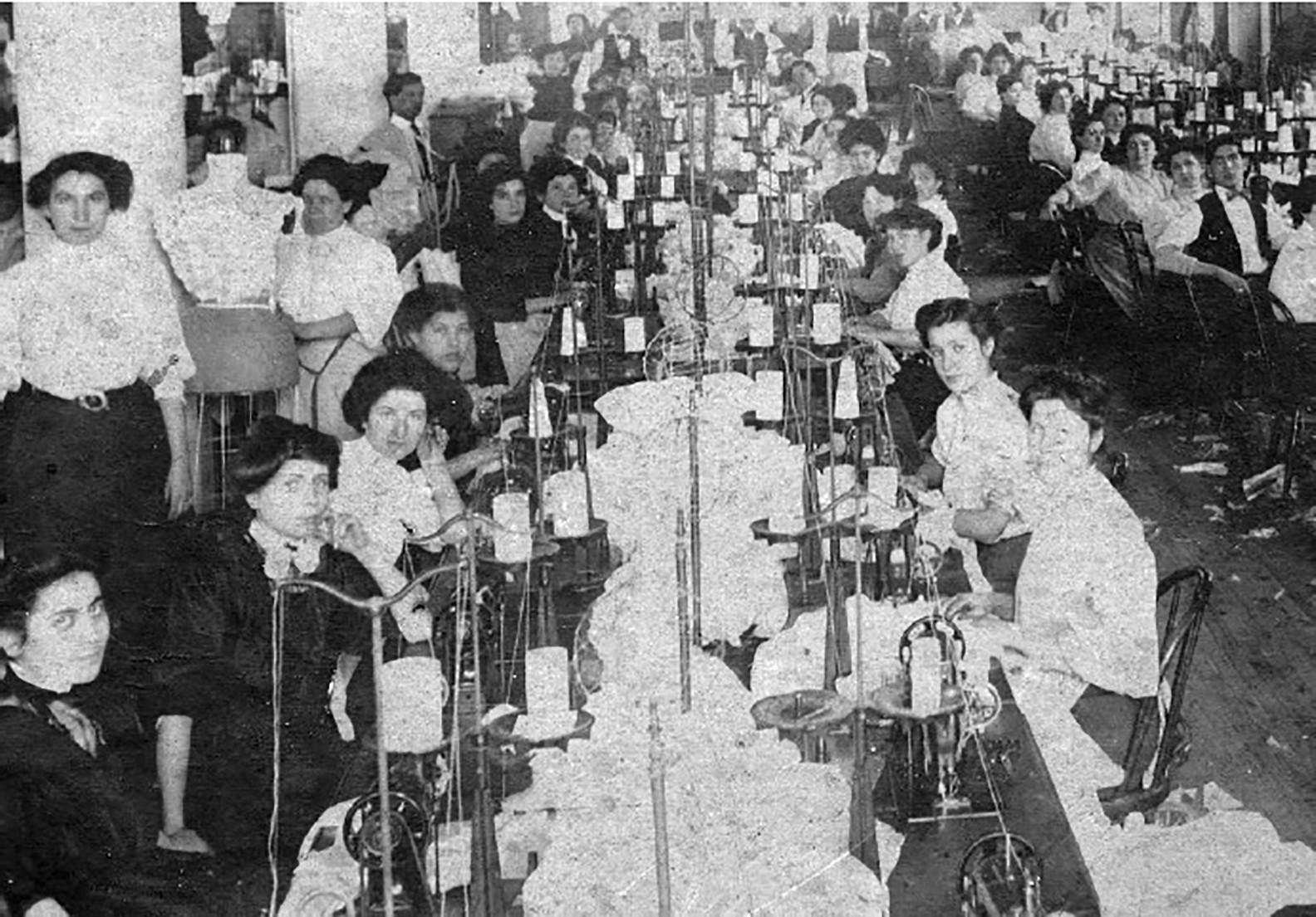 Garment Factory, 1910
