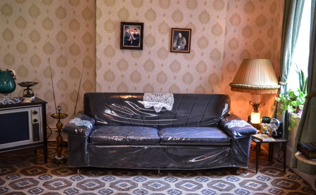 Stupendous Ode To A Plastic Covered Couch Tenement Museum Pdpeps Interior Chair Design Pdpepsorg