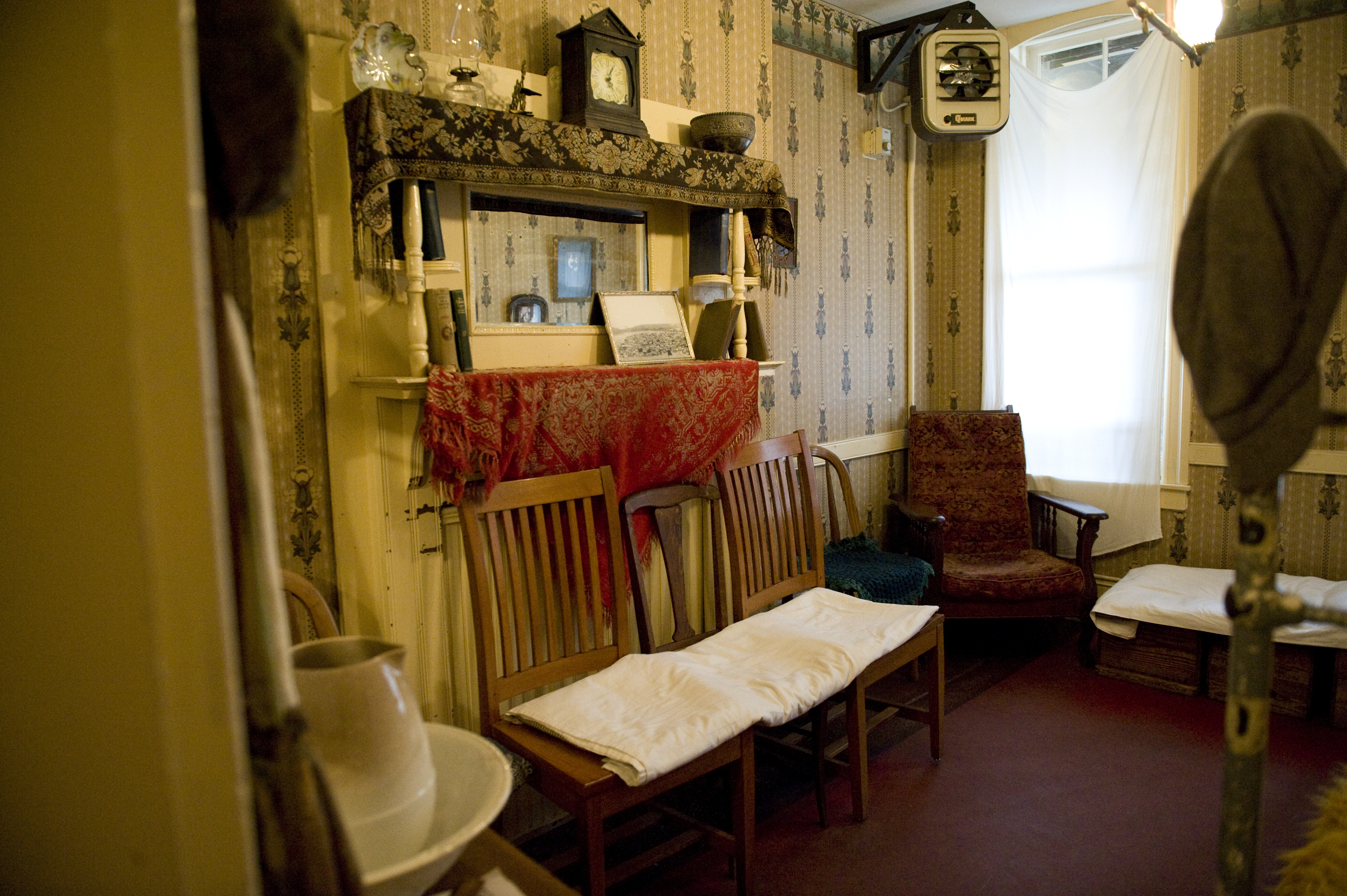 The Parlor Of Confino Apartment In Tenement Museum