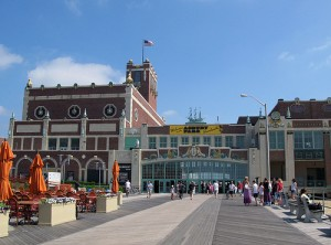 The Asbury Park boardwalk today