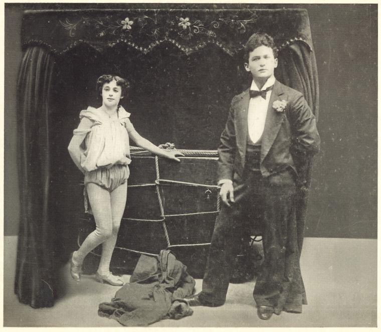 Harry and Bess and the bonds of love. Photo courtesy of the NYPL.