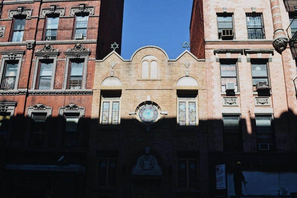 Historic Romaniote Jewish synagoge on Broome St.